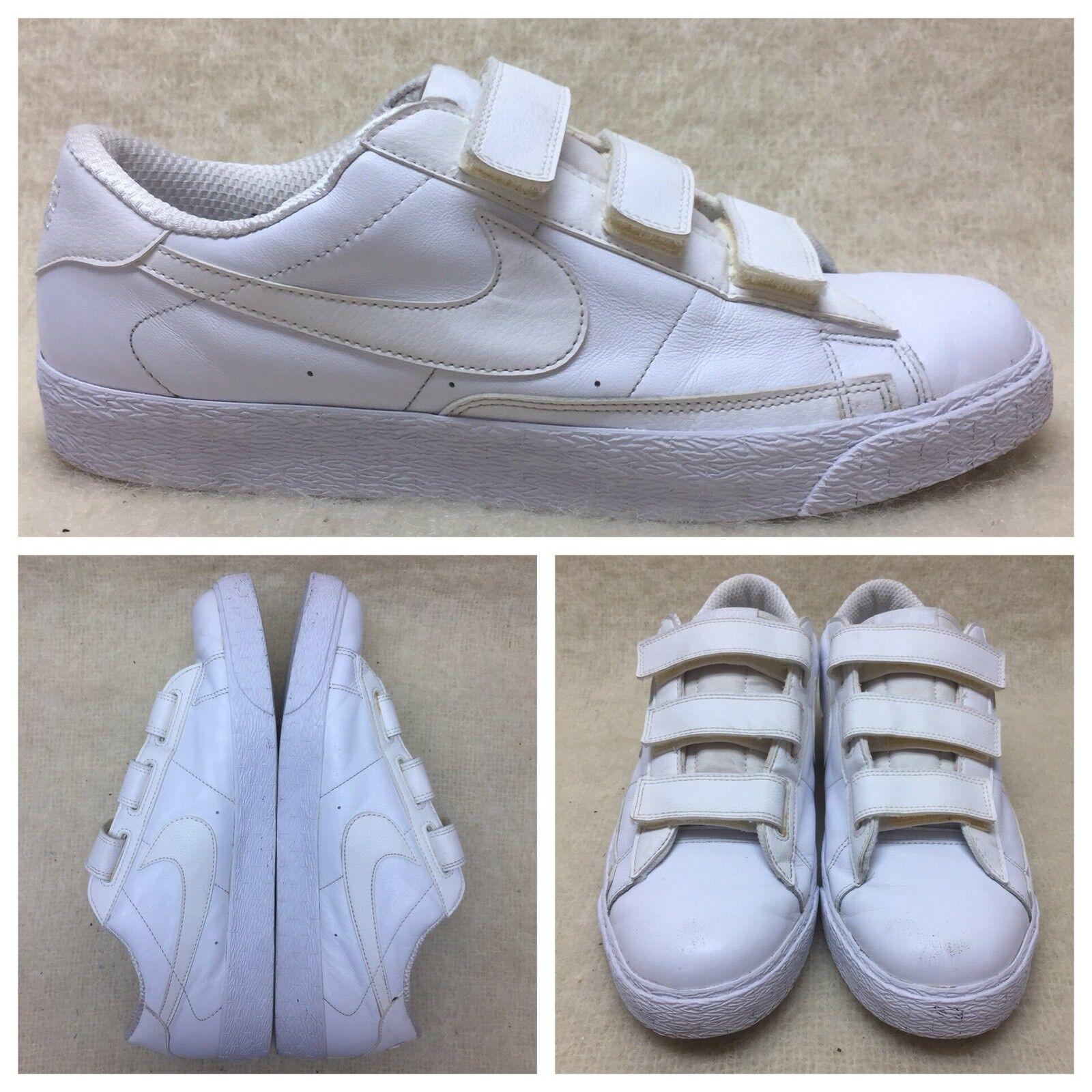 Nike 347637-100 white mens size 12 no tie adjustable stick straps Seasonal clearance sale