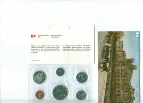 1978 CANADA Mint Proof Like Set Uncirculated with COA and Envelope