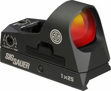 Sig Sauer Romeo3 Reflex Sight 1x25mm 3 MOA 1913 Red Dot SOR31002 Riflescope