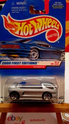 Hot wheels First Editions Deora II 2000-065 sans logo HW 9975