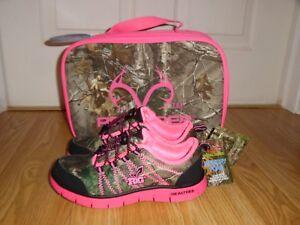 Medium Pink Lunchbox8fd9cdd8f4db2bd633174a12abc58066 Realtree Mädchen 13 3 Schuhe Jugend Camouflage New Größe dBoCWQerx