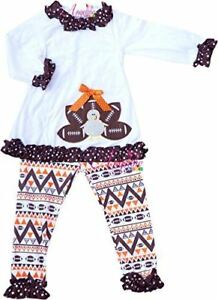 e94da594e8f8 Image is loading Angeline-Boutique-Clothing-Girls-Thanksgiving-Outfit-Set -Grateful-