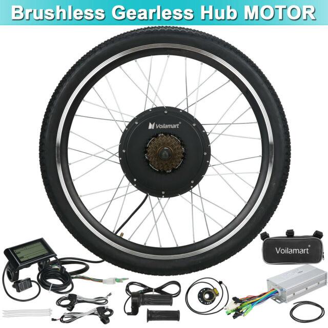 28/'/' 36V 500W Electric Bicycle Rear Wheel Conversion Kit E-bike Hub Rim Motor