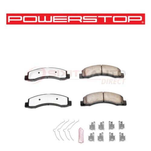 Power Stop Z36-756 Truck /& Tow Disc Brake Pads /& Hardware for Kit Set uk