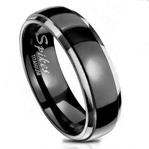 anelli neri uomo