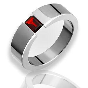 Bridal Titanium Polished Flat Comfort Back Ring