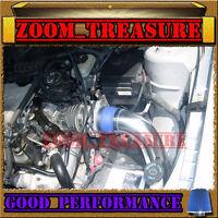 Blue 1997-2003/97-03 Chevy Malibu Base/ls 3.1l V6 Cold Air Intake Kit 2p