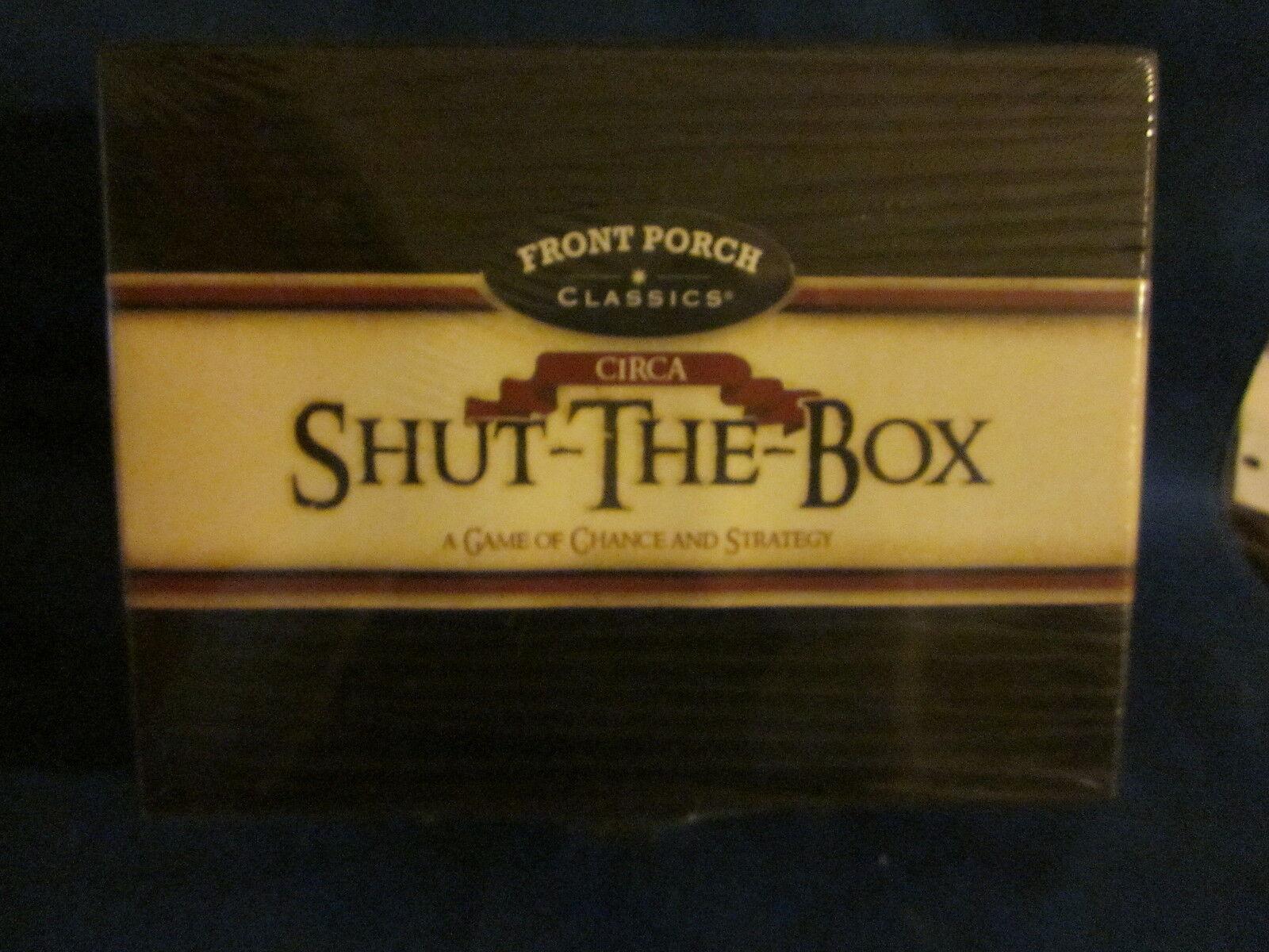 Front Porch Classics Circa Shut-The-Box Sealed