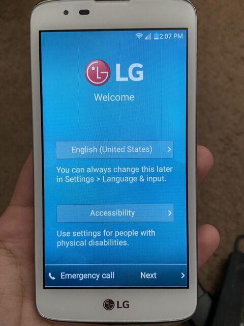 LG K7 MS330 - 8GB - Black (MetroPCS) Smartphone