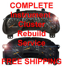 CHEVY TAHOE Speedometer Instrument Cluster Gauge and Display REPAIR SERVICE