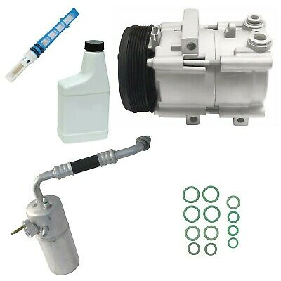 RYC Remanufactured Complete AC Compressor Kit FG648 With Valve