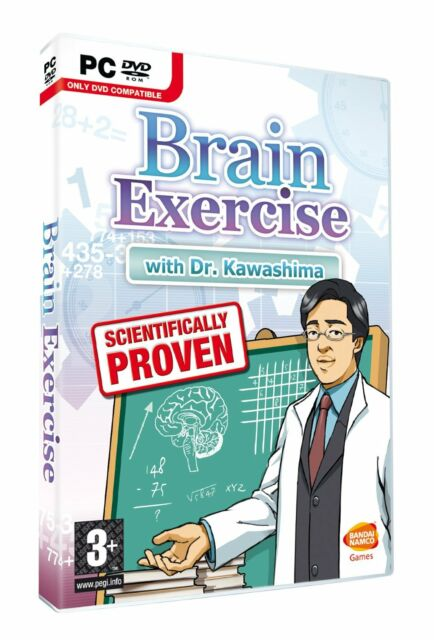 Brain Exercise with Dr. Kawashima (PC DVD) BRAND NEW SEALED