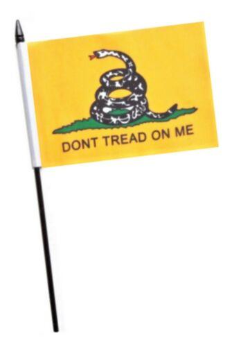 Gadsden Don/'t Tread On Me Small Hand Waving Flag