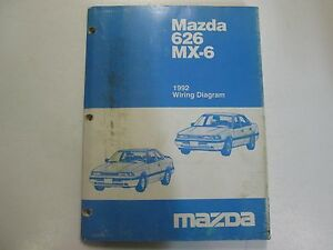 image is loading 1992-mazda-626-mx-6-mx6-electrical-wiring-