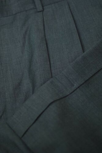 tissage X 34 de gris ᄄᄂ Signature A Man costume laine Riva Jos tic plissᄄᆭ Pantalon en CedWBrxo