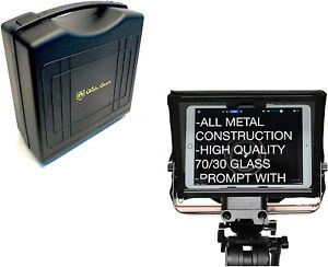 Glide Gear TMP 500 Video Camera iPad Tablet Smartphone 15mm Rail Teleprompter