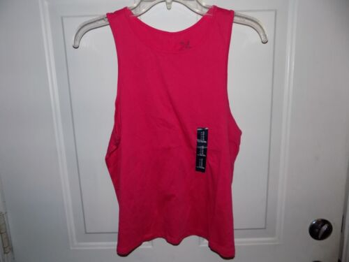Gap Women/'s Tank Top Active Basic 100/% Cotton Pink