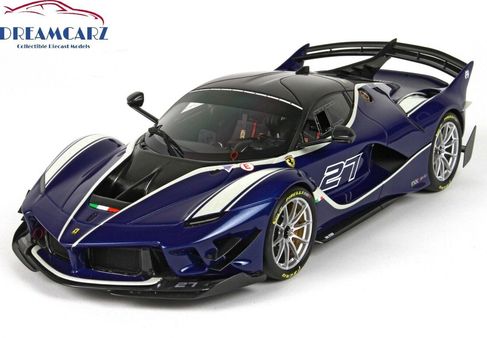 tienda de ventas outlet BBR 1 18 2017 Ferrari FXX FXX FXX K evolución P18158C-Con DisJugar Case-Limitada 36 Piezas   tienda en linea