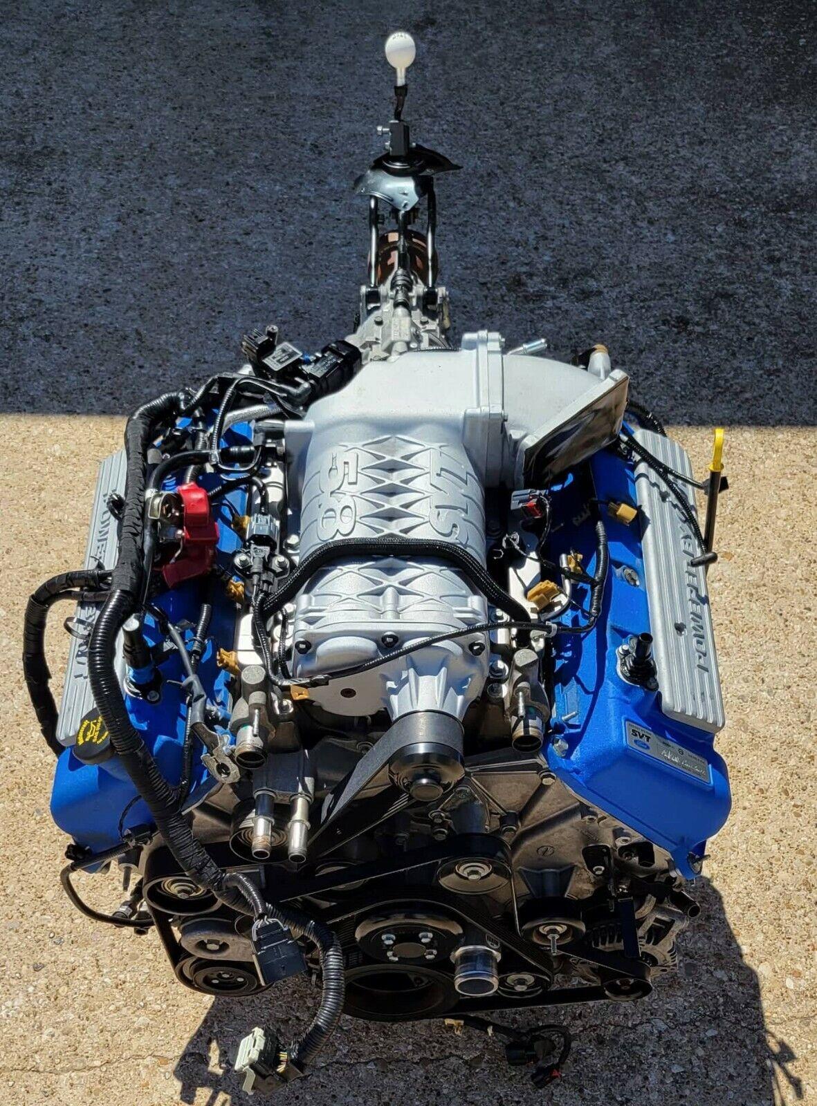2013-2014 MUSTANG SHELBY COBRA GT500 5.8L 4V V8 SUPERCHARGED PULLOUT 28K