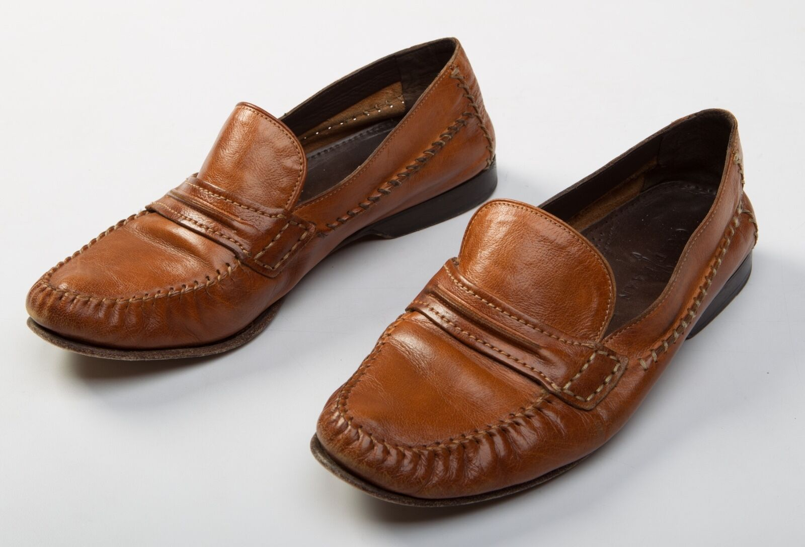 Men's Cole Haan Brown Leather Loafers Formal shoes Size Sz US 8.5 M