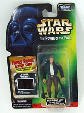 Hasbro Han Solo Power Of The Force Series Freeze Frame New