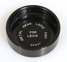 LEICA M SERIES REAR LENS CAP