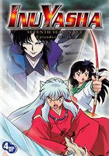 InuYasha . The Complete Season Seven . 7. Staffel . Inu Yasha Anime .. 4 DVD NEU
