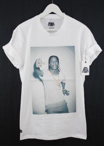 Blanc Fact Ap Et Asap Anneau Noir T Rocky Premium Chaîne A shirt Or Actual wR4dqvw