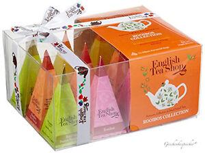 TEE GESCHENK ENGLISH TEA SHOP ROOIBOS GESCHENKSET 12 TEE PYRAMIDEN TEE GESCHENK