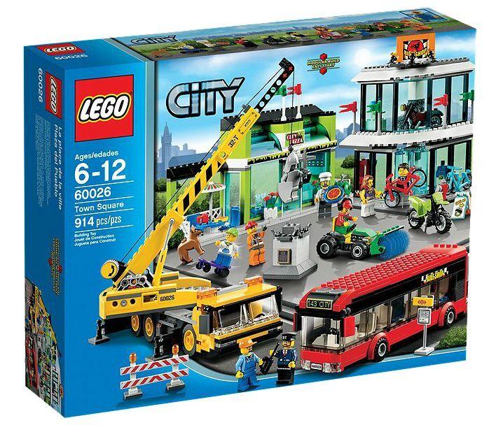 LEGO ® City 60026 centro città NUOVO OVP _ Town Square NEW MISB NRFB