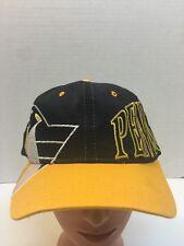 Vintage 90s Starter Pittsburgh Penguins Nhl Hockey Hat Cap SnapBack