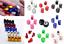2-Bouchon-de-valve-d-039-air-pneu-fusee-ballon-cube-de-couleur-velo-voiture-moto-BMX miniature 1