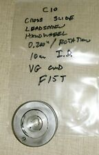 Emco Compact 10 Lathe Imperial Cross Slide Leadscrew Handwheel Amp Gauge F15t