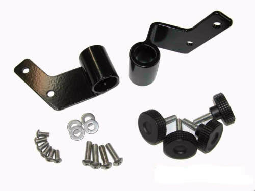 Side Quick Release Mirror Relocation Bracket For Jeep Wrangler 87-95 Skidrow