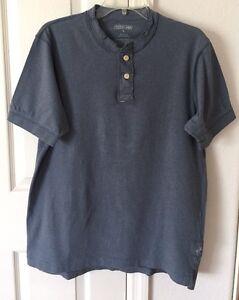 URBAN-UP-PIPELINE-Mens-Grayish-Blue-Short-Sleeve-T-Shirt-Size-M