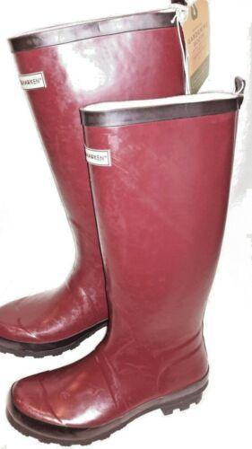 Deep Red Womwen/'s Tall Garden Boot Smith /& Hawken