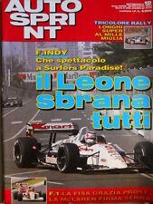 Autosprint n°12 1993 Tricolore Rally Longhi Super al Mille Miglia  [P11]