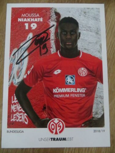 45x Handsignierte AK Autogrammkarten *FSV Mainz 05* 18//19 2018//2019 AK-Satz