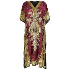 Ladies Women's New Summer Floral print Long kaftan dress african style 12 to 24