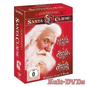 Santa-Clause-Eine-schoene-Bescherung-1-2-3-3-DVD-Box-Tim-Allen-Neu-OVP
