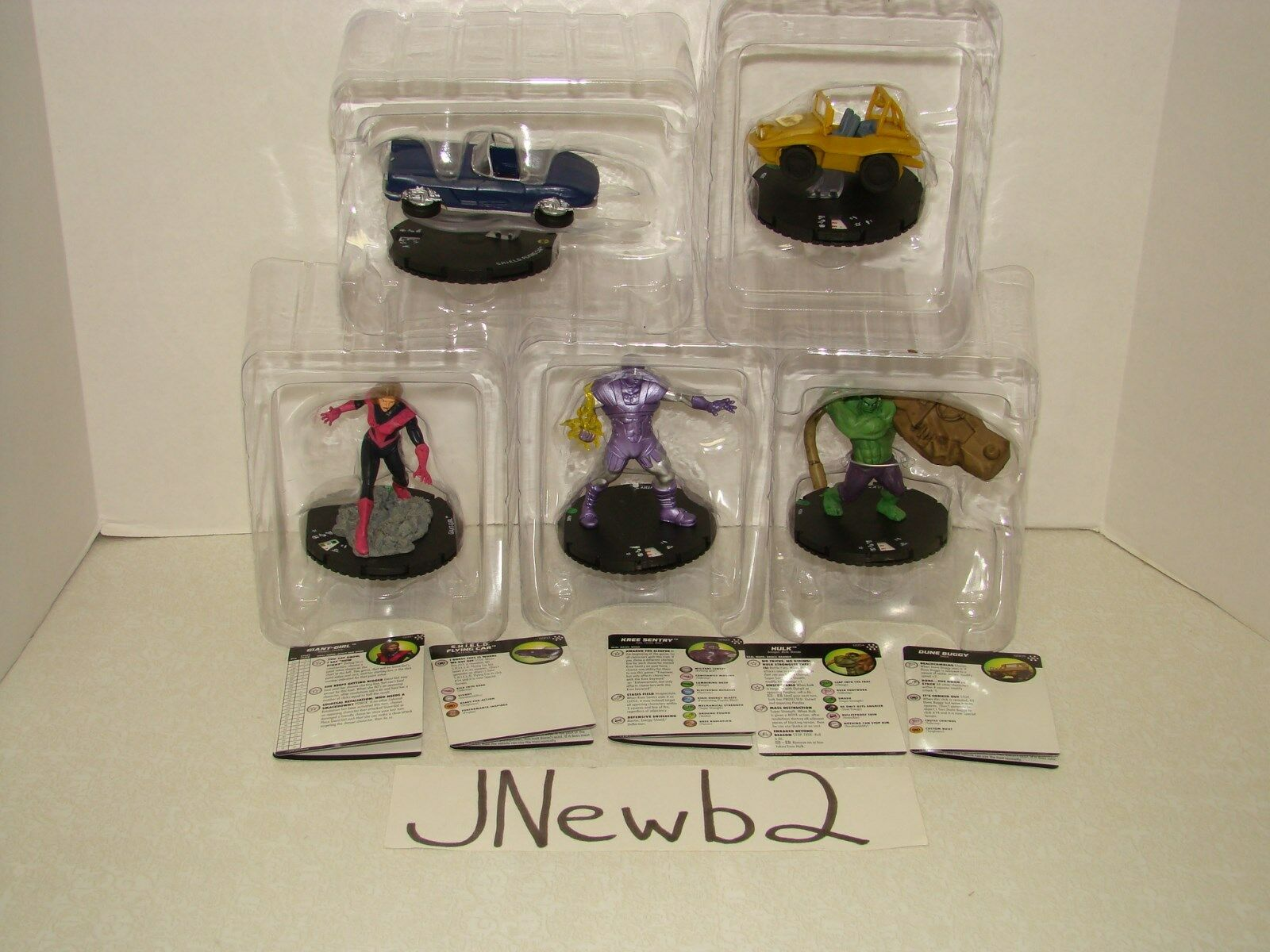 HeroClix Marvel Avengers Infinity Uncommon G001-010 Colossal Set FREE SHIPPING