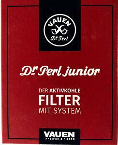 10 x 40 Stück-Packung Perl Filter Pfeifenfilter  Größe 1 rot 9mm Dr