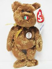 "Ty Beanie Baby ""Italy"" the World Cup Champion Bear, Brand New w/Mint Tags"