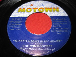 THE-COMMODORES-45-THERE-039-S-A-SONG-IN-MY-HEART-SOUL-VG