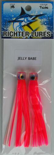 Deadly on Tuna Mahi Softhead. Kingies 2 x Richter Lures Jellybabe