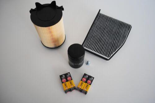 Inspektionspaket Inspektionskit Filterset Audi A3 Typ 8P1 1,6 Benziner 75KW