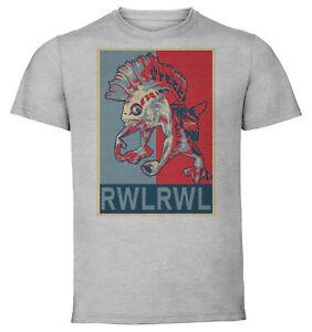 T-Shirt-Gray-Propaganda-Wow-Classic-Murloc