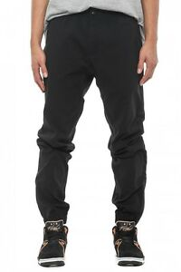 Image is loading Nike-Conversion-Woven-Black-Tapered-Pants-Size-M 8f55b660bc19
