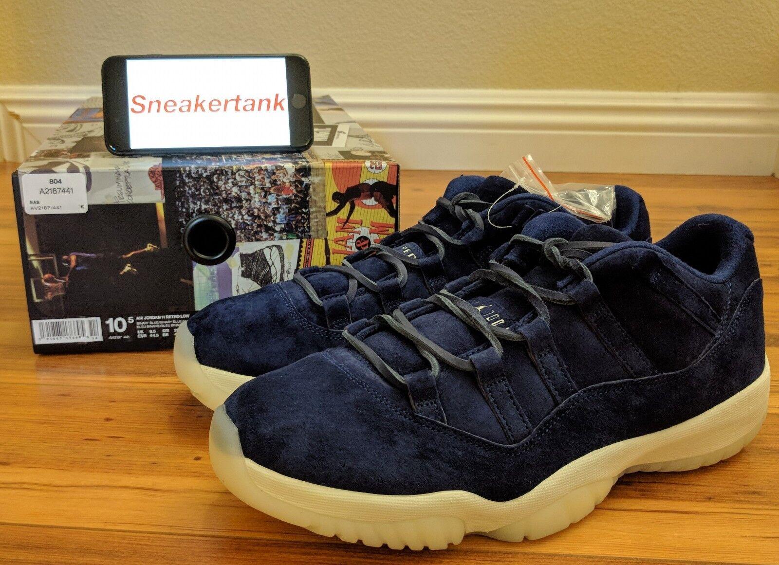buy online 51017 7e39a DS Nike Air Jordan Jordan Jordan Retro 11 XI Low RE2PECT Derek Jeter Size   10.5
