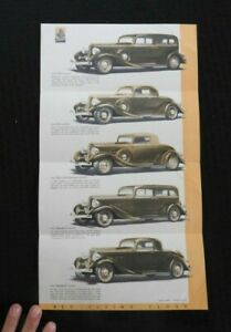 1933-The-Reo-Vuelo-Nube-034-Automobile-Sales-Catalogo-Folleto-Raro-amp-Buenas
